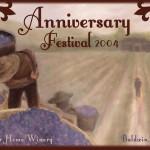 2004 Anniversary Poster